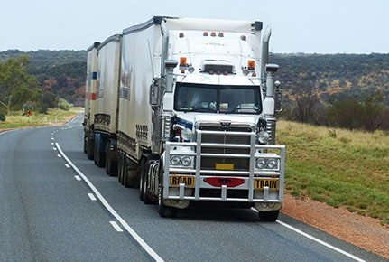 National road freight logistics