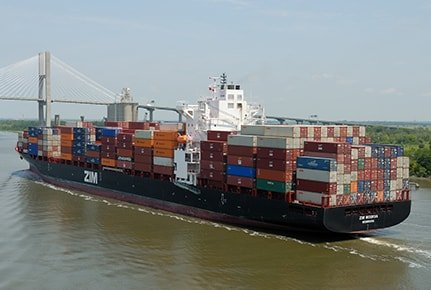 Sea freight logistics and delivery
